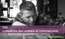 TNS : cotisations des artisans et commerçants