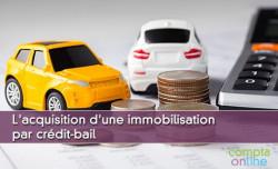 L'acquisition d'une immobilisation par crédit-bail