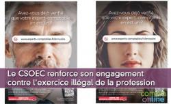 Le CSOEC renforce son engagement contre l'exercice illégal de la profession