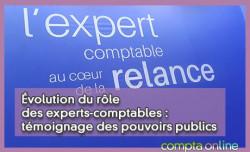 Évolution du rôle des experts-comptables : témoignage des pouvoirs publics