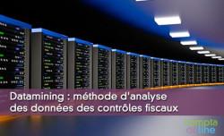 Datamining : méthode d'analyse des données des contrôles fiscaux