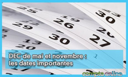 DEC de mai et novembre : les dates importantes