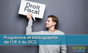 Programme et bibliographie de l'UE 4 du DCG