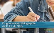 Programme et bibliographie de l'UE 7 du DCG