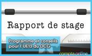 Programme et conseils pour l'UE13 du DCG