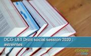 DCG UE3 Droit social session 2020 : astreintes