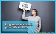 Programme et conseils pour l'UE4 du DCG