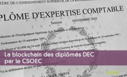 La blockchain des diplômés par le CSOEC