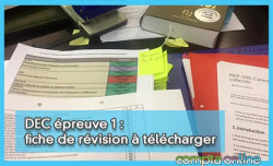 DEC épreuve 1 : fiche de révision à télécharger