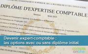 Devenir expert-comptable : les options avec ou sans diplôme initial