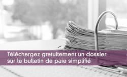Téléchargez gratuitement un dossier sur le bulletin de paie simplifié