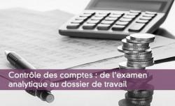 Contrôle des comptes : de l'examen analytique au dossier de travail