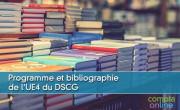Programme et bibliographie de l'UE4 du DSCG