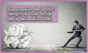 Suppression de la DSI : remplir le volet social de la déclaration 2042
