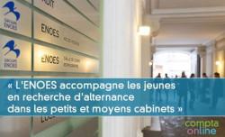 Thierry Carlier « L'ENOES accompagne les jeunes en recherche d'alternance dans les petits et moyens cabinets »