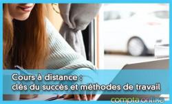 Cours à distance : clés du succès et méthodes de travail