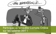 Participez à l'enquête Compta Online sur les salaires 2017 !