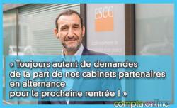 Gilles Samama : « Toujours autant de demandes de la part de nos cabinets partenaires en alternance pour la prochaine rentrée ! »
