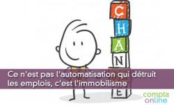 Etude Les Moulins : ce n'est pas l'automatisation qui détruit les emplois, c'est l'immobilisme