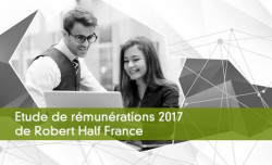 Etude de rémunérations 2017 de Robert Half France