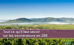 Tout ce qu'il faut savoir sur les exonérations en ZRR