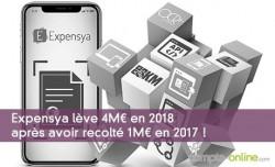 Expensya lève 4M¤ en 2018 après avoir recolté 1M¤ en 2017 !
