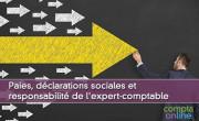 Paies, déclarations sociales et responsabilité de l'expert-comptable