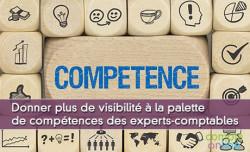 Donner plus de visibilité à la palette de compétences des experts-comptables