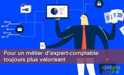 Pour un métier d'expert-comptable toujours plus valorisant