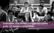 Exemples d'activités complémentaires pour un expert-comptable
