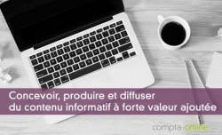 Experts-comptables :  concevoir, produire et diffuser du contenu informatif à forte valeur ajoutée