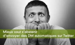Le Direct Message sur Twitter