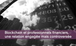 La blockchain et la finance