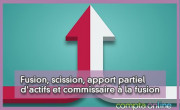 Fusion, scission, apport partiel d'actifs et commissaire à la fusion