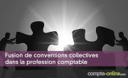 Fusion de conventions collectives dans la profession comptable