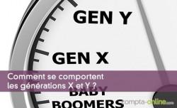 Comment se comportent les générations X et Y ?