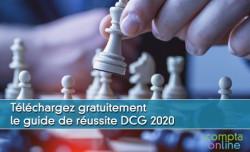 Téléchargez gratuitement le guide de réussite DCG 2020