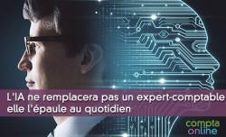 L'IA ne remplacera jamais un expert-comptable, elle l'épaule au quotidien