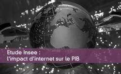 Etude Insee : l'impact d'internet sur le PIB