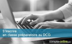 S'inscrire en classe préparatoire au DCG