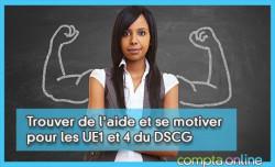 Trouver de l'aide et se motiver pour les UE1 et 4 du DSCG