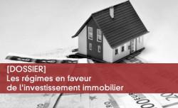 Régimes en faveur de l'investissement immobilier