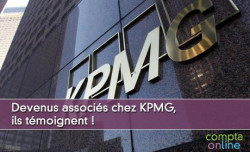 Devenus associés chez KPMG, ils témoignent !