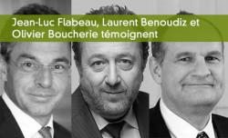 Laurent Benoudiz, Jean-Luc Flabeau et Olivier Boucherie