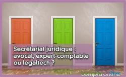 Secrétariat juridique : avocat, expert-comptable ou legaltech ?