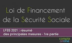 LFSS 2021 : résumé des principales mesures - 1re partie
