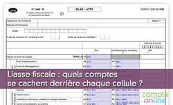 Liasse fiscale : quels comptes se cachent derrière chaque cellule ?