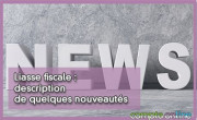 Liasse fiscale : description de quelques nouveautés