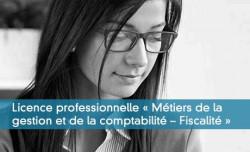Licence professionnelle « Métiers de la gestion et de la comptabilité – Fiscalité »