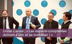 « Les experts-comptables doivent s'unir et se mobiliser »